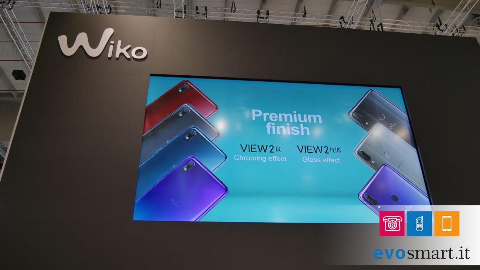 IFA 2018 | Wiko presenta View2 Go e Plus insieme ad Harry 2 | Evosmart.it