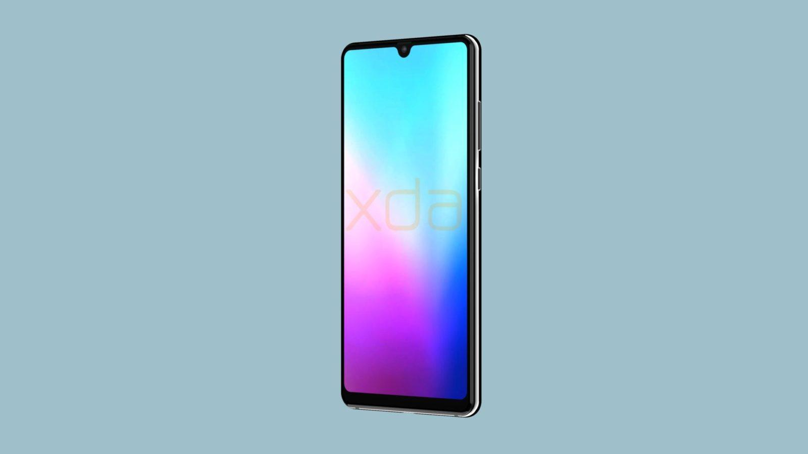 render frontale mate 20