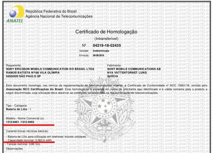 Sony Xperia XZ3 si fà sempre più vicino, arriva la certificazione in Brazile