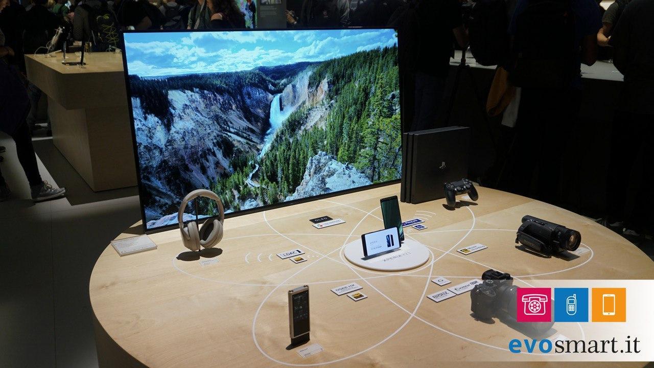 Divisione Sony Xperia ora insieme a TV, fotocamere e audio