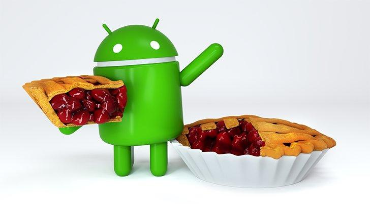 Android Pie copertina