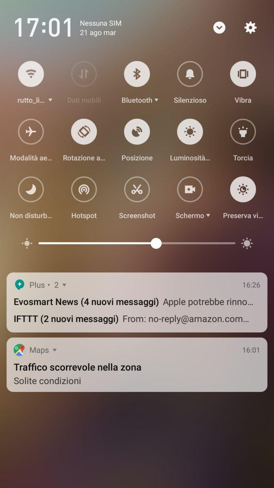 Ecco la nuova interfaccia dedicata alle notifiche della Flyme 7 | Evosmart.it