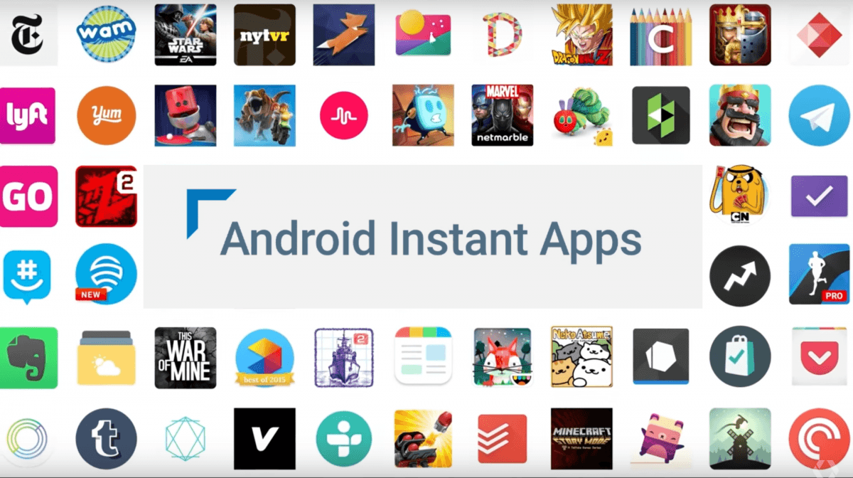 google instant apps