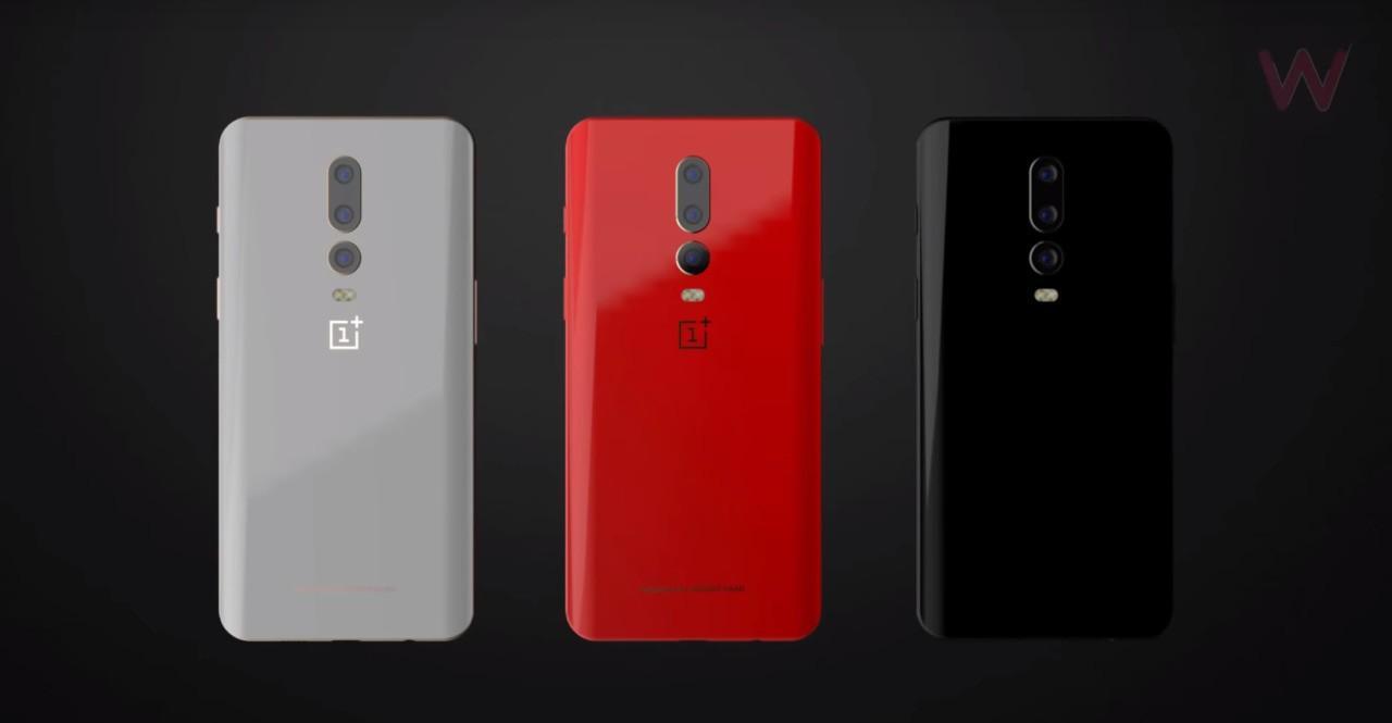 Possibili colorazioni di OnePlus 6T | Evosmart.it