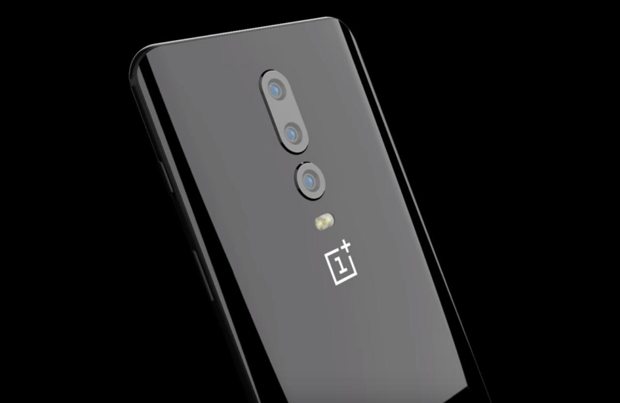 Render retro OnePlus 6T | Evosmart.it