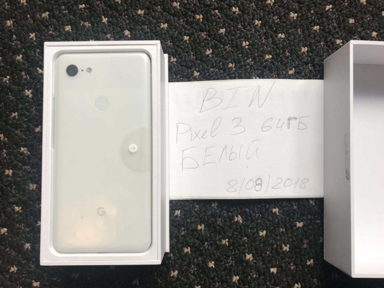 Confezione di Pixel 3 XL con smartphone | Evosmart.it