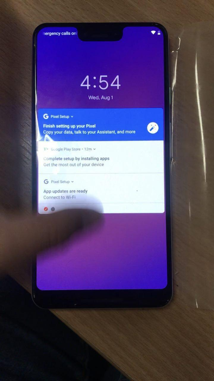 Lockscreen di Pixel 3 XL   Evosmart.it