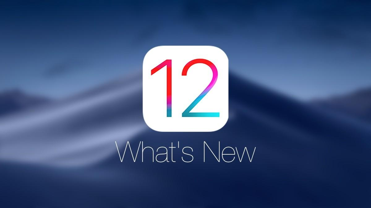 logo ios 12 apple