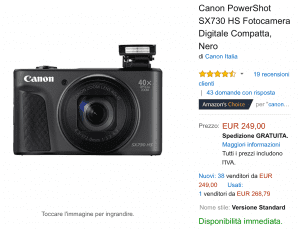 Canon offerta