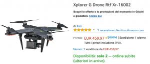 Drone offerta Amazon