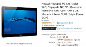 Huawei m3 offerta