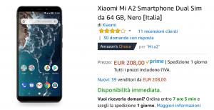 Xiaomi mi a2 offerta Evosmart.it