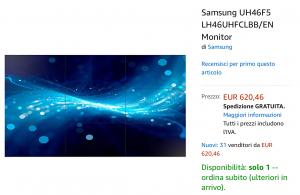 Monitor Samsung offerta