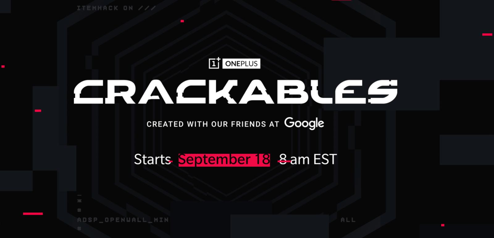 OnePlus lancia il contest Crackables, di cosa si tratta?