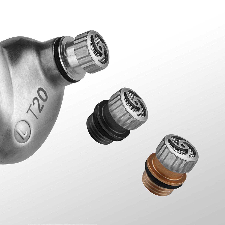 RHA T20 (filtri): filtro per i Bassi, filtro per risposta Neutra e per enfatizzare gli Alti | Evosmart.it