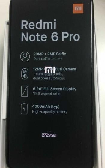 Redmi note 6 Pro | Evosmart.it