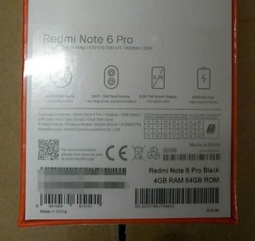 Redmi 6 Note Pro | Evosmart.it