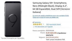 S9 Plus Offerta