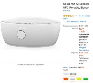 Speaker Nokia offerta