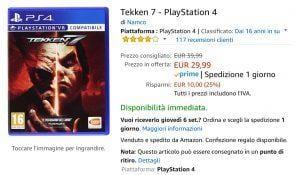 TEKKEN 7 PS4 EVOSMART.IT