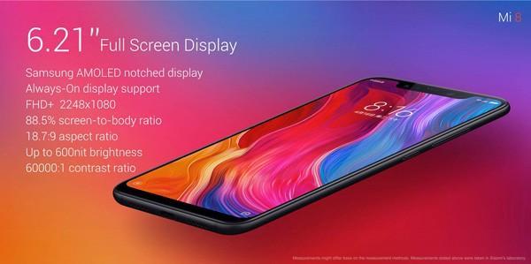Xiaomi mi 8 | Evosmart.it