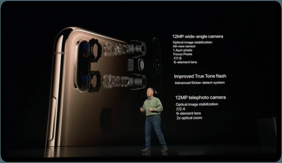 Nuovo sensore per la fotocamera principale di iPhone Xs | Evosmart.it