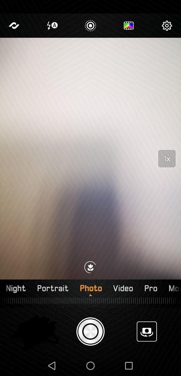 Schermata principale camera EMUI 9.0