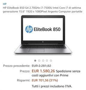 Offerta PC HP evosmart