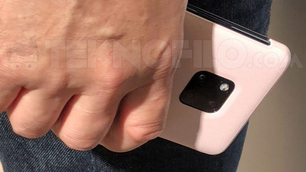 Huawei Mate 20 svelato in alcune foto leaked