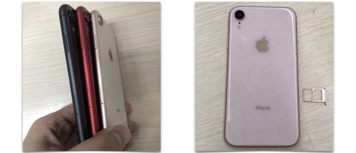 Immagini dal vivo del retro di iPhone 9 e colorazioni disponibili.   Evosmart.it