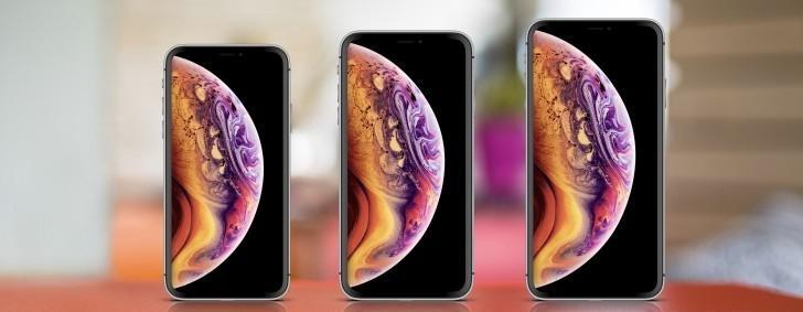 Da sinistra verso destra: iPhone XS, iPhone 9 e iPhone XS Max. | Evosmart.it