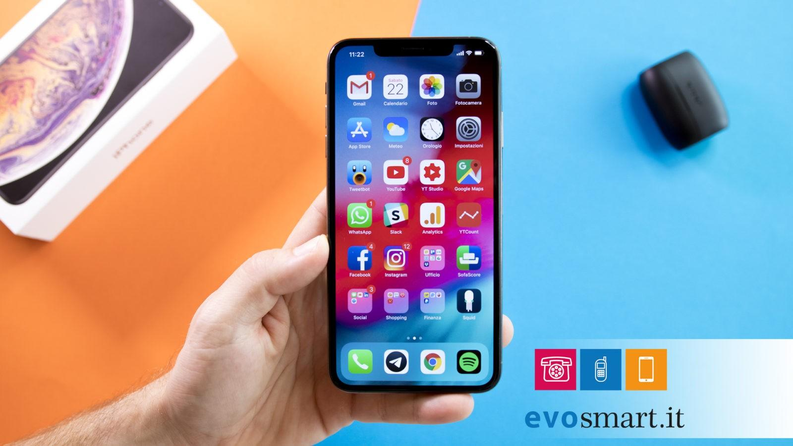 iphone xs max copertina