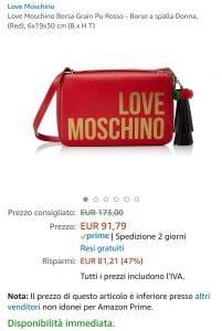 Love Moschino offerta