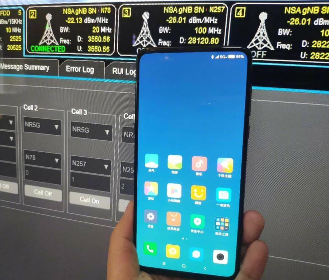 Xiaomi Mi Mix 3 appare su twitter, che sia in test una versione con 5G?