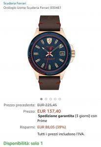 Orologio Ferrari offerta