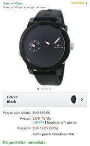 Orologio tommy1 offerta
