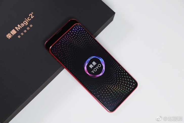 Honor Magic 2 immagini dal vivo