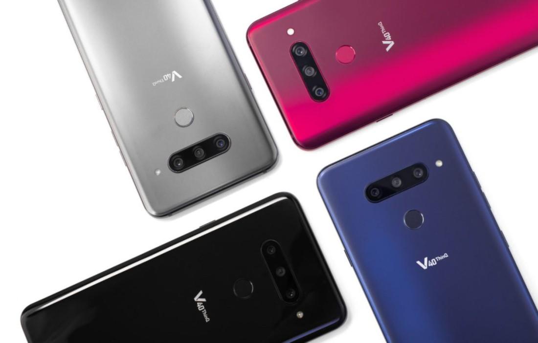 LG V40 ThinQ è ufficiale: DAC audio a 32 bit e 5 fotocamere