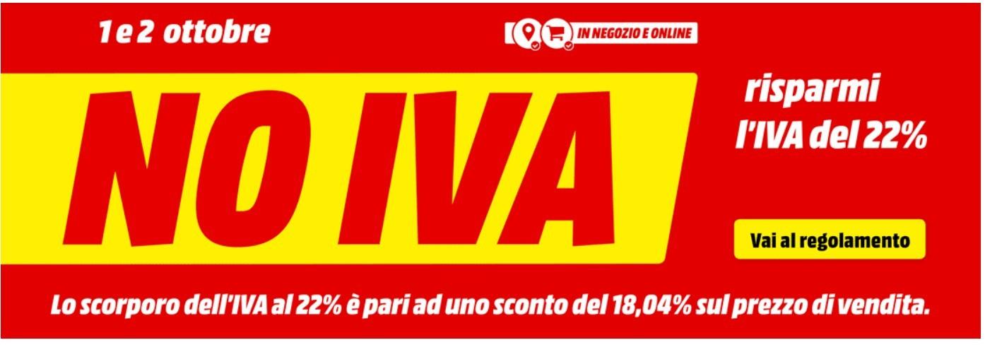 NO IVA MEDIAWORLD | Evosmart.it