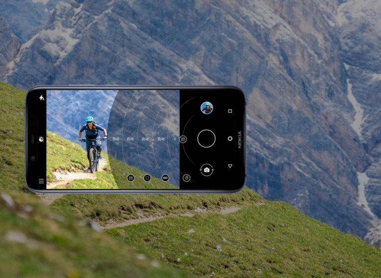 Nokia 7.1 Plus fotocamera