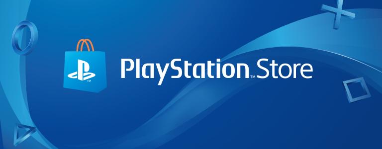 Logo ufficiale del Playstation Store. Gli sconti sono validi solo per i download digitali! | Evosmart.it