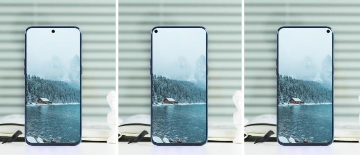 Samsung display senza bordi