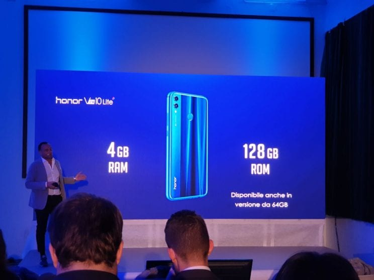 memoria honor v10 lite