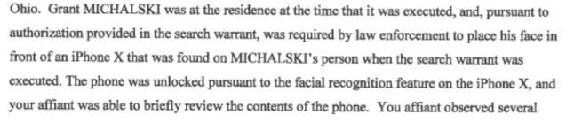 L'FBI obbliga un utente a sbloccare il proprio iPhone tramite FaceID