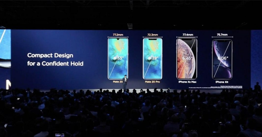 confronto display mate 20