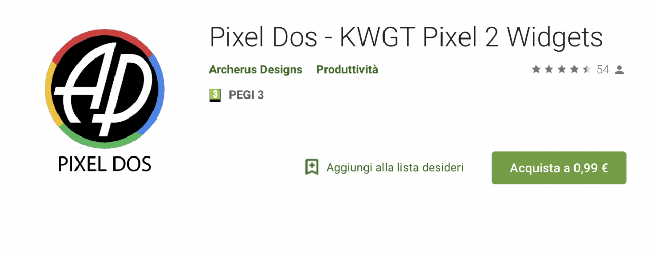 pixel dos play store