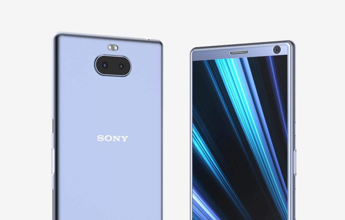 Sony Xperia XA3 si mostra per la prima volta in alcuni render in alta definizione