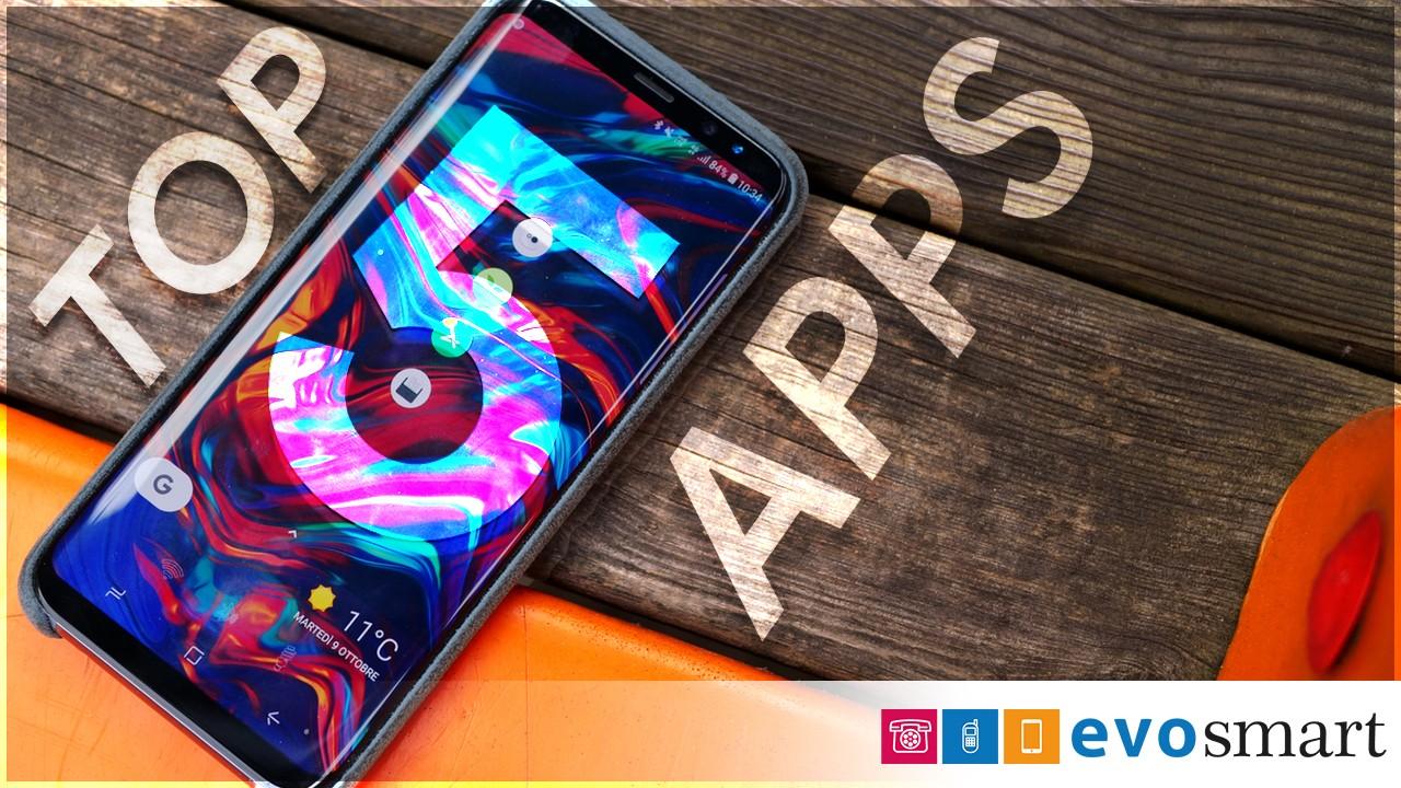 Top 5 Apps Ottobre copertina