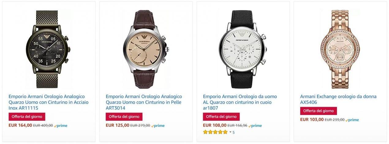 orologi offerta amazon