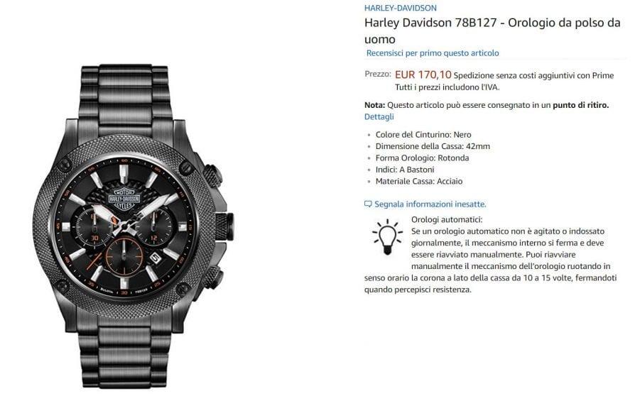 HD orologio offerta amazon